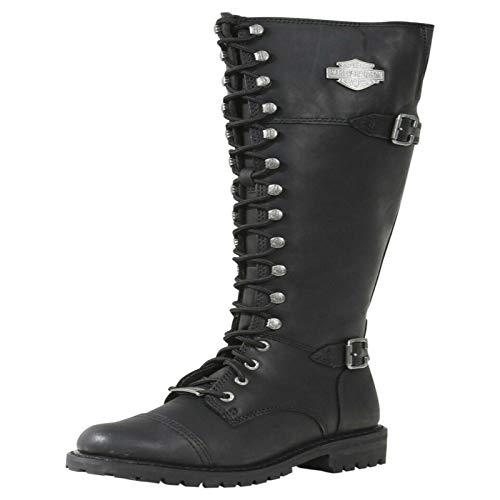 Harley Davidson Beechwood Boots schwarz EU39 (Stiefel Damen Harley Davidson)