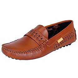 Fausto MenS Fst 770 Tan Loafer-41