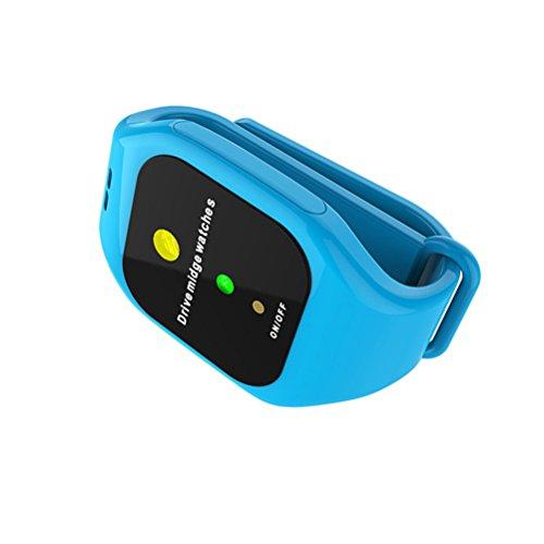 GFYWZ Montre Anti-Moustique, Smart LED Électronique Ultrasonique Anti-Moustique Bracel