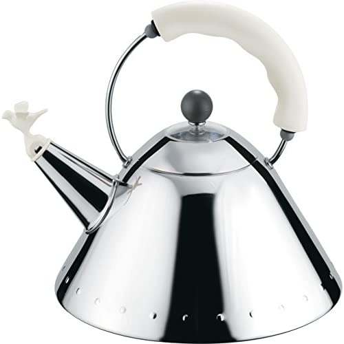 41In8Xt sfL. SS500  - Alessi Kettle, White