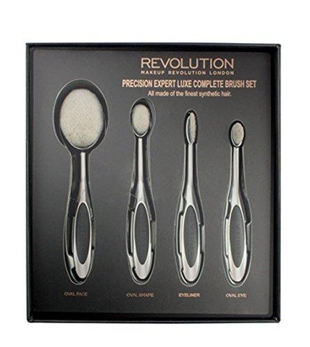 Makeup Revolution Malerpinsel-Set PRECISION EXPERT Luxe Complete