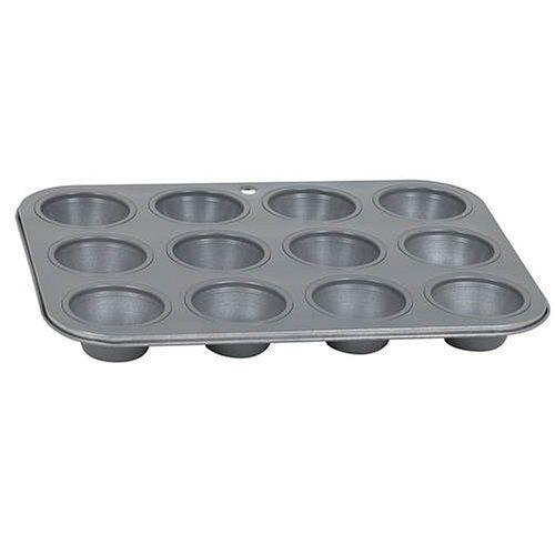 Baker's Secret Basics Premium Nonstick 12-Cup Mini Muffin Pan by Baker's Secret -
