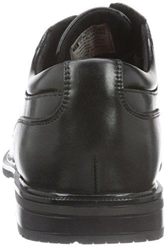 Rockport Herren Essential Details Ii Captoe Derby Schwarz (BLACK LEA)