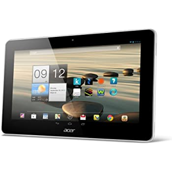 Acer Iconia A3-A10 Tablette Tactile 10,1 (25,65 cm) Mediatek 8125 1,2 GHz 16 Go Android Jelly Bean 4.2.1 Wi-Fi Blanc