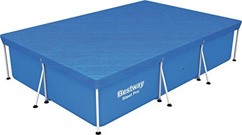 Bestway 58106 - Cobertor invierno para piscinas Splash Frame de 300 x 201 cm