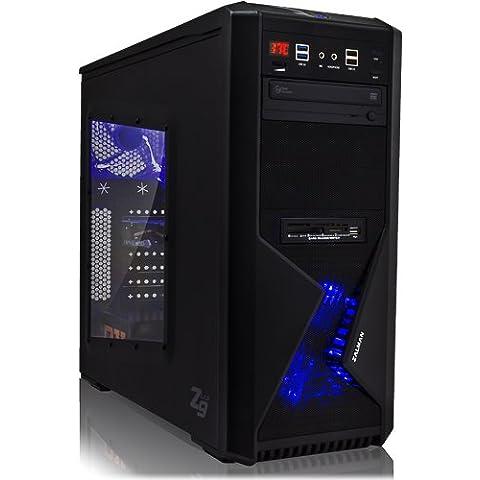 Ankermann-PC GameXPERT XRDT, Intel Core i7-4790K 4x 4.00GHz, R7 370 WindForce, 8 GB DDR3 RAM, Kingston SSDNow 120GB, DVD-RW Writer, sin sistema operativo, Card Reader, EAN II-QXJT-UZPA