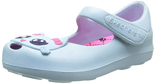 Skechers Mädchen Paw Princess Slingback, Blau - Bleu (Bleu Clair), 26 EU