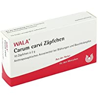 WALA Carum carvi Zäpfchen, 10 St. Zäpfchen preisvergleich bei billige-tabletten.eu