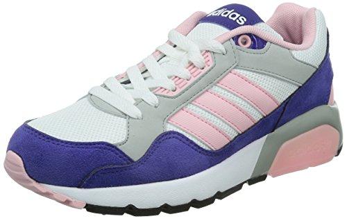 purple white Größe Mädchen Run9tis grey Purple pink lime Mädchen weiß Adidas 5 black 3 Trainers OCXw5fq