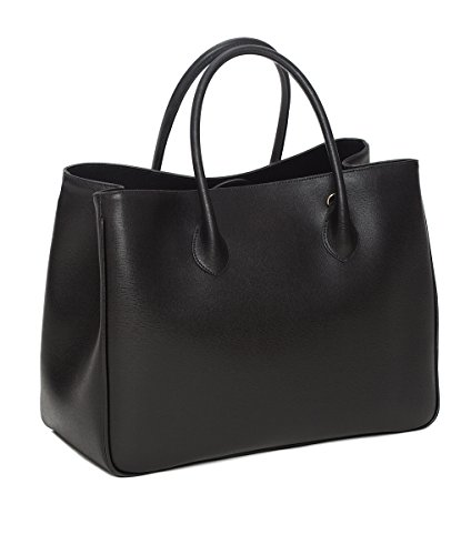 Winter & Co. Daybag L Damen Handtasche, Schwarz