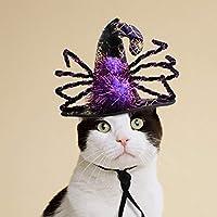 UKCOCO Halloween Spider Shape Design Hat Funny Pet Caps para Halloween Party Decor Halloween Pet Supplies