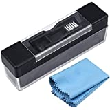 Yotako Vinyl Record Cleaner Kit, Velvet Anti Static Cleaning Brush, Stylus Brush with Record Cleaning Cloth