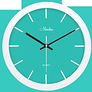 Creative Living Room Wall Clock Silent Design Minimalist Modern Quartz Garden Clock E 10inch