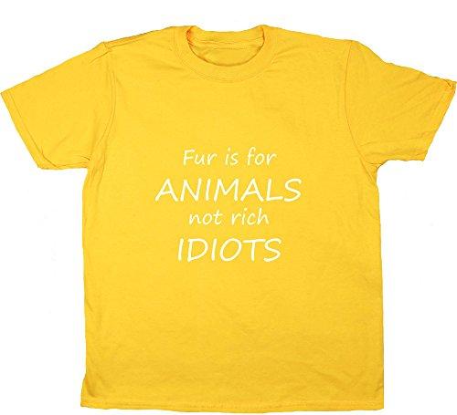 Hippowarehouse Mädchen T-Shirt Gr. 12-13 Jahre, Gelb - Gänseblümchen (T-shirt Gelben Tree Hugger)