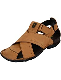 Foresthill Men's Leather Outdoor Sandals and Floaters
