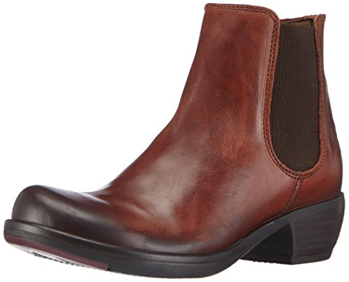 Fly London - Make, Chelsea Boots da donna Rosso (Rouge (brick 013))