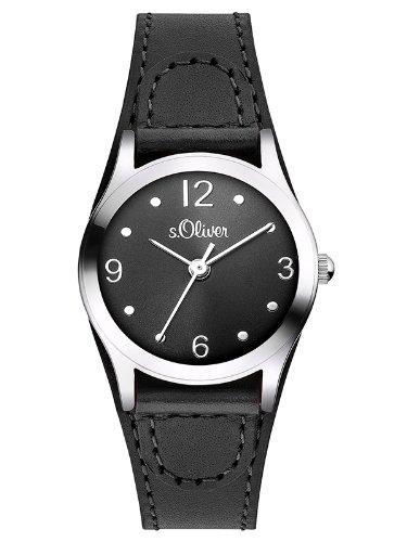 sOliver-Damen-Armbanduhr-XS-Analog-Quarz-Leder-SO-2623-LQ