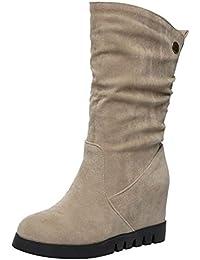 823cf06a1 Amazon.es  Naranja - Botas   Zapatos para mujer  Zapatos y complementos
