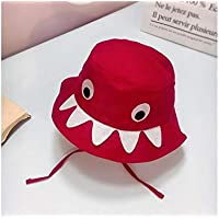 GYwink Cappellino Neonato Visiera per Bebè Shark Bebè Protezione Solare per  Bambino in Cotone Morbido con 4dc93f228a8e