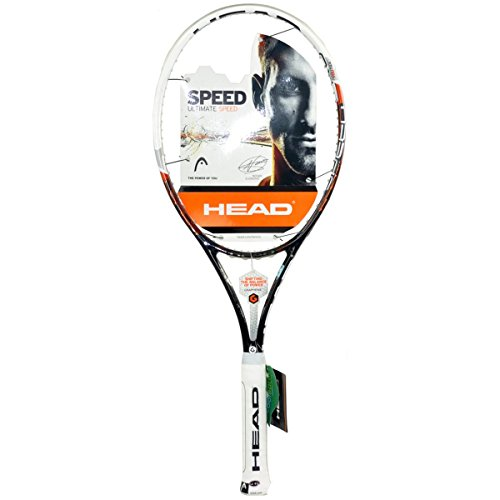 HEAD Tennisschläger Youtek Graphene Speed MP 16/19, schwarz/weiß, L3, 230013