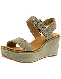 f6ad682c09a Amazon.fr   Compensées - Clarks   Sandales   Chaussures femme ...