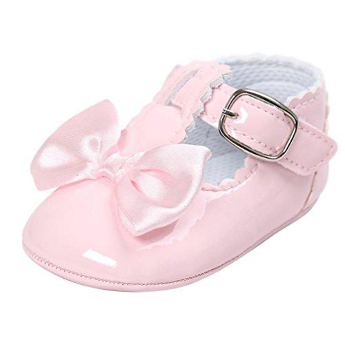 FNKDOR Baby Mädchen Bowknot Prinzessin Weiche Sohle Schuhe -