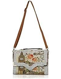 Irish Trendy Sling Bag For Women( Multicolor)