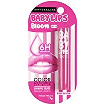 Maybelline Baby Lips Moisturizing Lip Balm, Pink Bloom, 1.7g