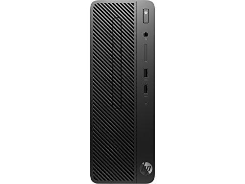 HP 290 4HR65EA Processore i3-8100, G1 3,6 GHz Intel Core i3, Windows 10 Pro incluso, Nero