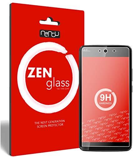 ZenGlass (2 Stück Flexible Glas-Folie für Wiko Rainbow Jam Panzerfolie I Bildschirm-Schutzfolie 9H I (Kleiner Als Das Gewölbte Bildschirm)