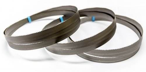 Preisvergleich Produktbild 3 x M42 HSS Bimetall Sägeband 2080 x 20 x 0,9 mm mit 6/10 ZpZ, Bandsägeblatt