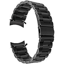 TRUMiRR per Gear S3 Classic/Frontier Cinturino, Braccialetto di affari del braccialetto del rimontaggio della cinghia dell'acciaio inossidabile del metallo di 22 millimetri per Samsung Gear S3 Sport Smartwatch.