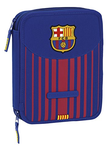 Safta Estuche F.C. Barcelona 17/18 Oficial 56 Útiles Incluidos 195x248x45mm