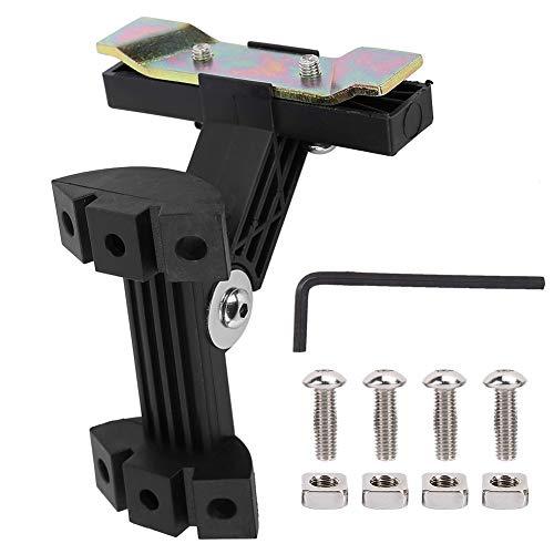 VGEBY Fahrrad Flaschenhalter Adapter, Fahrrad Drink Wasserkocher Rack Adapter Aluminiumlegierung Wasserflasche Stehen Halterung mit Schraubenschlüssel, Schrauben, Muttern -