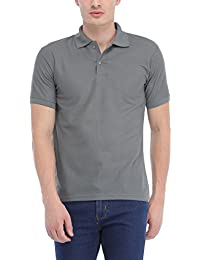 Trendy Trotters Grey Polo Cotton T-Shirt
