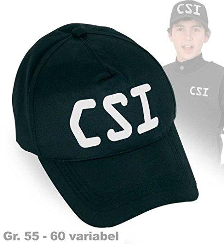 Preisvergleich Produktbild CSI Cap C.S.I. Basecap Mütze Größe variabel 55 - 60cm