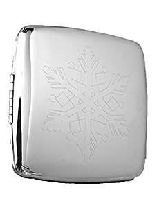 Snowflake Compact Handbag Mirror (Square)