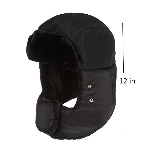 Winter Trooper Trapper Hat Ear Flap Russian Style With Windproof Mask