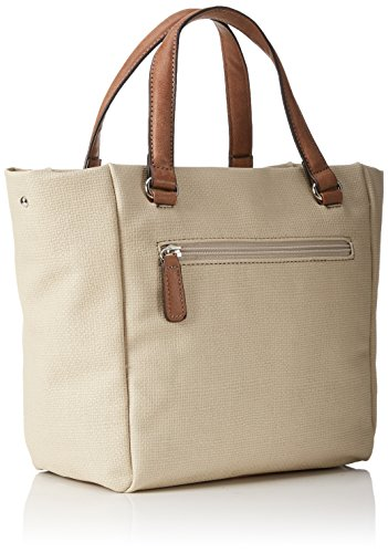 GERRY WEBERLife Handbag M - Borsa con Maniglia Donna Weiß (offwhite 101)