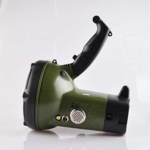 Tragbarer Scheinwerfer 100W versteckter Xenonscheinwerfer Bootshohe Leistung wiederaufladbarer 220W Jagdmilitär Taschenlampe 220W Suchscheinwerfer B