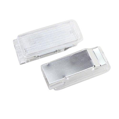 PerGrate 2Pcs LED Kofferraum Lichter Lampe für Peugeot 1007 206 207 306 307 308 406 407 RCZ -