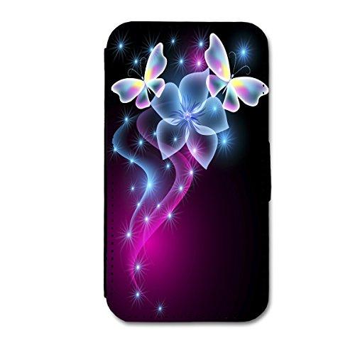 Book Style Flip Handy Tasche Case Schutz Hülle Schale Motiv Foto Etui für Apple iPhone 5C - X12 Design7 Design 10