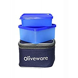 Oliveware Royal Nano 2 Containers Lunch Box (900 ml)