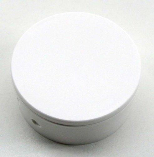 1 Baldachin Verteilerbaldachin weiß, für die Zimmerdecke, Abschlussdose, Verteilerdose