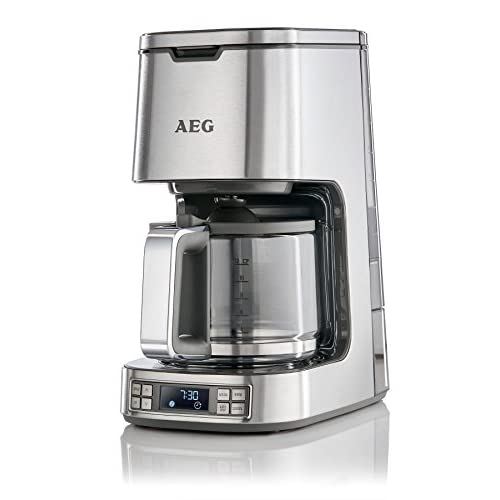 41InWgaPaiL. SS500  - AEG 7 Series Digital Filter Coffee Machine, 1100 W - Stainless Steel