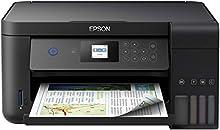 Epson EcoTank ET-2750 Stampante Inkjet 3-in-1, Stampa Fronte/Retro, Copia e Scansione, Connettività Wi-Fi e App, LCD da 3.7 cm, Nero