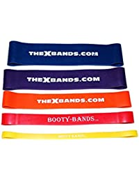 Best Resistance Loop Booty Band Set For Exercise And Fitness- Elastic And Stretch Band- Great For Physical Therapy...