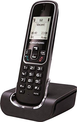 Grundig D350 schnurloses DECT Telefon Black