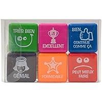 Pack 6 sellos motivación francés
