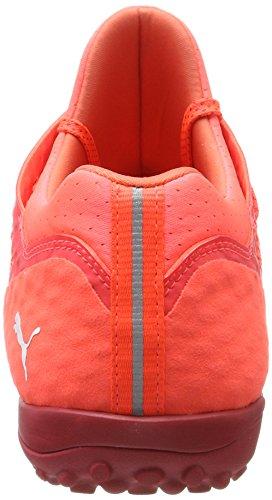 Puma Herren 365 Netfit St Fußballschuhe Rot (Fiery Coral- White-Toreador)